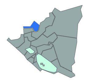 The region we serve in Nueva Segovia